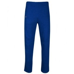 Cotton Rich Fleece Open Bottom Sweatpants