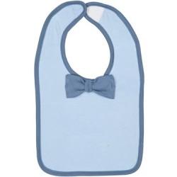 Infant Baby Rib Bow Tie Bib