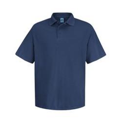 Short Sleeve Spun Polyester Pocketless Polo