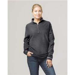 Corduroy 1/4 Zip Pullover