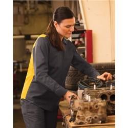 Women's Performance Plus Long Sleeve Shop Shirt with Oilblok Technology
