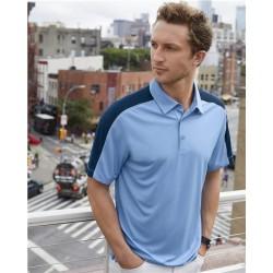 Dynamic Mesh Blocked Sport Shirt