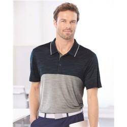 Colorblocked Mélange Sport Shirt