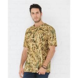 Camouflage Crew Neck T-Shirt