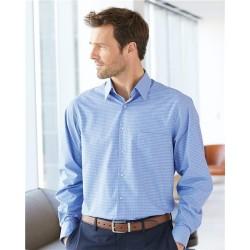 Broadcloth Point Collar Check Shirt
