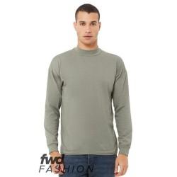 FWD Fashion Unisex Mock Neck Long Sleeve Tee