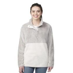 Fuzzy Fleece Pullover