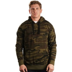 Enzyme-Washed French Terry Hooded Sweatshirt