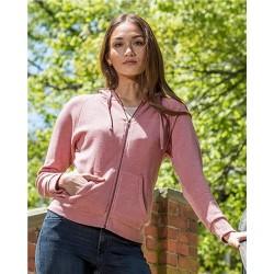 Stockton Angel Fleece Full-Zip Hooded Sweatshirt