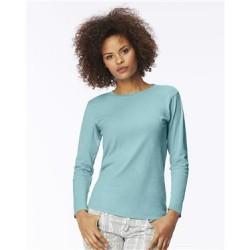 Garment-Dyed Women's Ringspun Long Sleeve T-Shirt