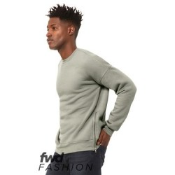 FWD Fashion Crewneck Sweatshirt with Side Zippers